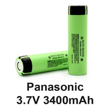 Αποτέλεσμα εικόνας για PANASONIC 18650 - 3400 MAH
