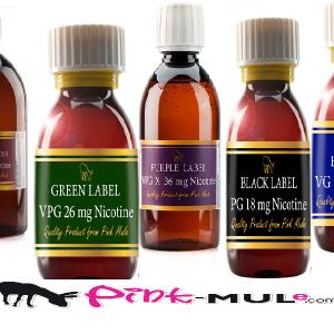 Pink Mule Label 100ml